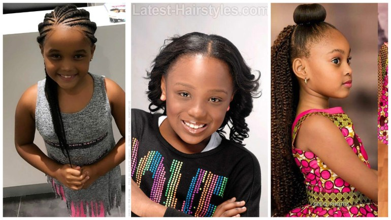 Find out 10 Adorable Children Hairstyles Your Kids will Love!!