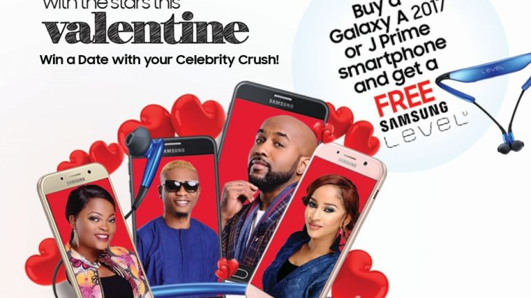 Celebrate Love with the Stars in the Samsung Valentine Promo – Get a FREE Level U & Win a Date with Your Favourite Celebrity!