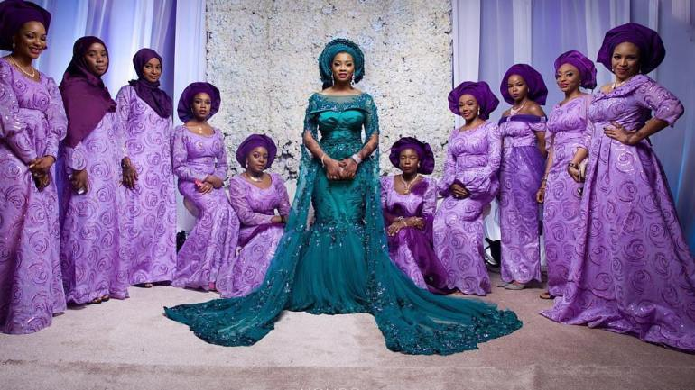 Why the Asoebi Squad Is a Constant At Every Nigerian Wedding