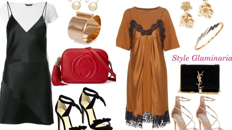 The Style Glaminarian's Pick – 3 Ways To Style Slip Dresses This Weekend