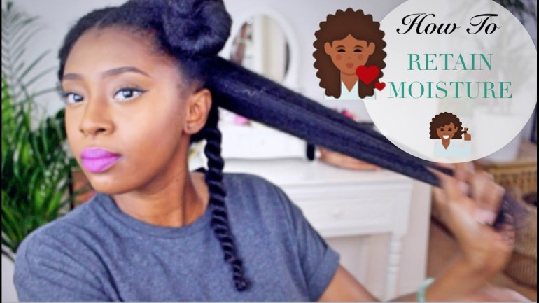 Watch This: Moisturise Your Dry Natural Hair With These Four Steps