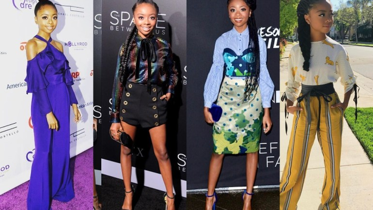 Fashion: Skai Jackson Is All Grown Up! Let's Flashback To Her Red Carpet Moments!