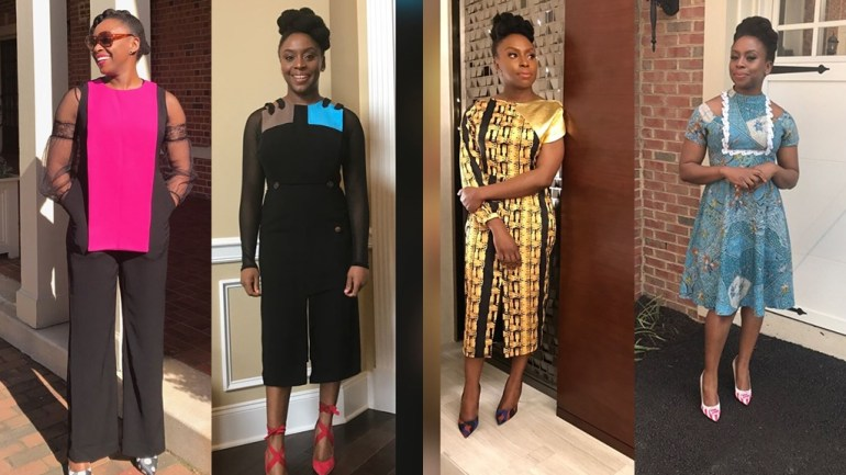 From Gozel Green To Style Temple; Chimamanda Adichie & Her Love For Nigerian Designers