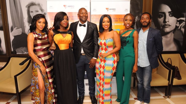 OC Ukeje, Joselyn Dumas, Lala Akindoju, Kunle Afolayan, & More At The Premiere Of Potato Potahto During Cannes 2017 Festival