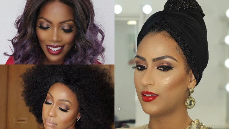 10 Times Makeup Artist Doranne Beauty Beat Some Of Our Celebs Faces To Perfection