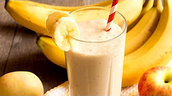 Kamdora Kitchen: Watch This Simple Hack On How To Make An Apple-Banana Smoothie!