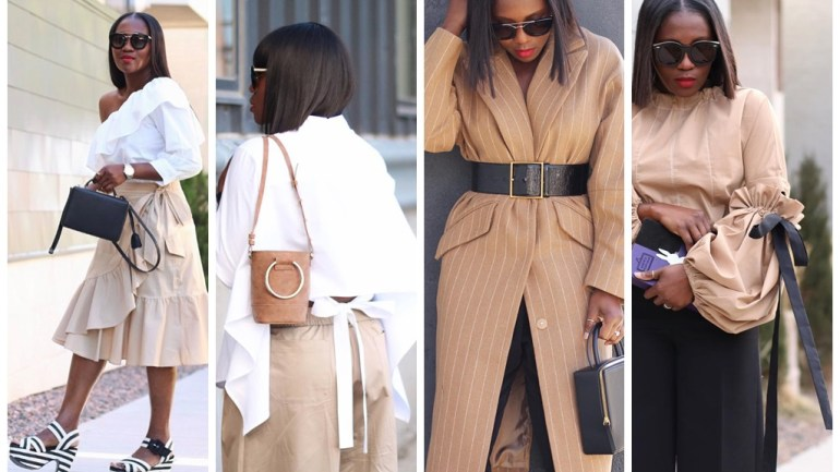 Blogger Boss Ranti Onayemi-Blanchard Knows How To Set The Rules On The Camel Trend!
