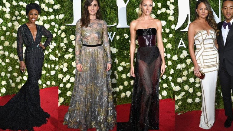 Hollywood's Finest Shine On The Red Carpet of The 2017 Tony Awards