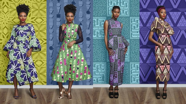 Ankara Never Looked This Good! The Vlisco x Lanre Da Silva Lookbook Is Everything