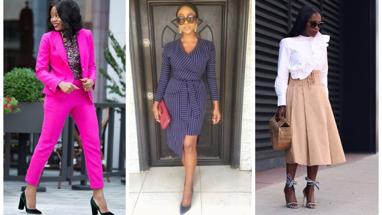 Fashion: 8 Work Style Looks To Keep You On Your A-Game!