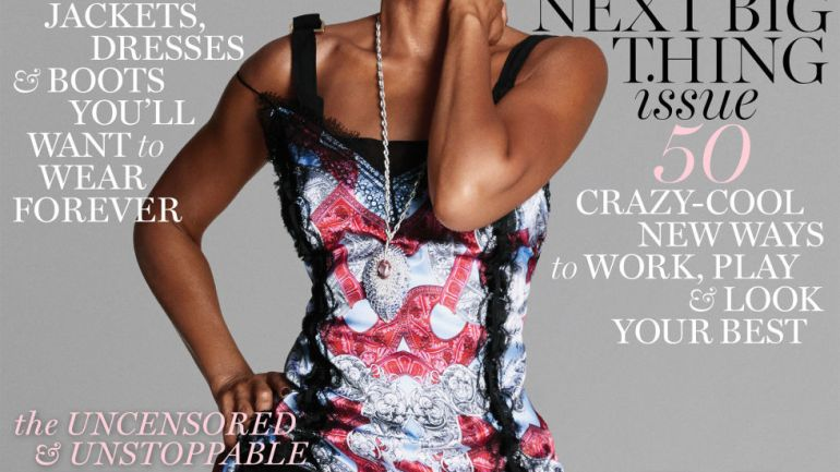 Oscar Winning Taraji P. Henson Covers The October Issue For Maire Claire Magazine!