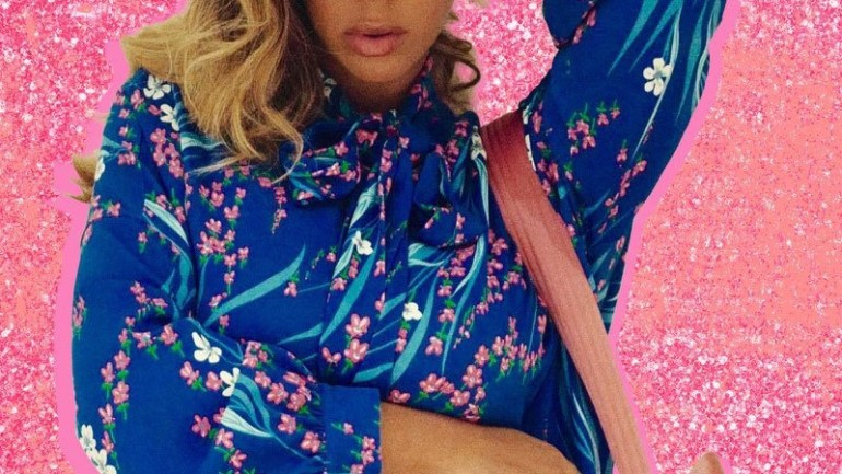 Beyoncé Is Giving Us Pink Panther Slay Glam With This New IG Post