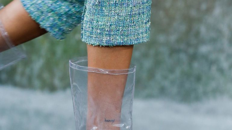 Chanel Has Just Shaken The World Of Fashion With These Wearable Plastic Boots!