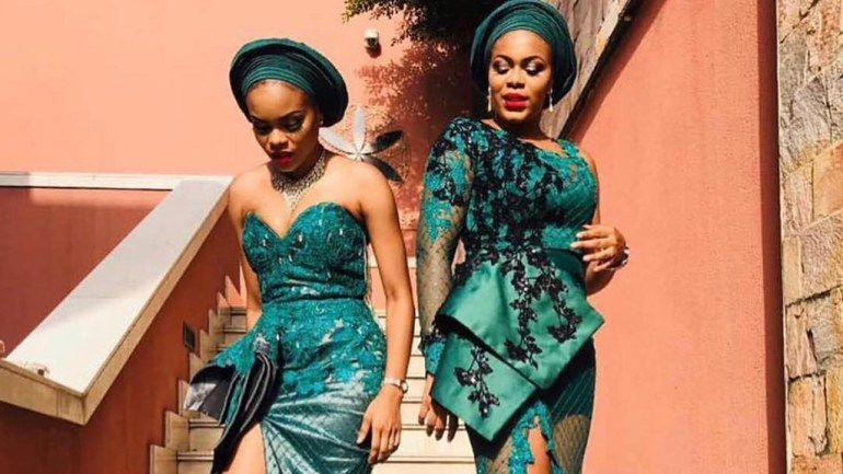 Asoebi Styles #128: Slaying With Elegance!
