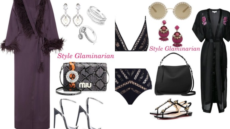 The Style Glaminarian's Pick – 6 Ways To Get The Best Out Of The Silk Robe Trend