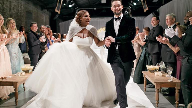 "Serena Williams & Alexis Ohanian: From ""Rats Under Your Table"" To ""I Do!"""