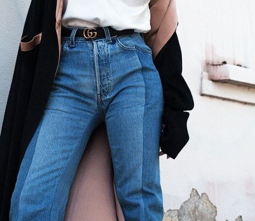 Fashion: The Two-Toned Denim Trend We Slacked On All Along!