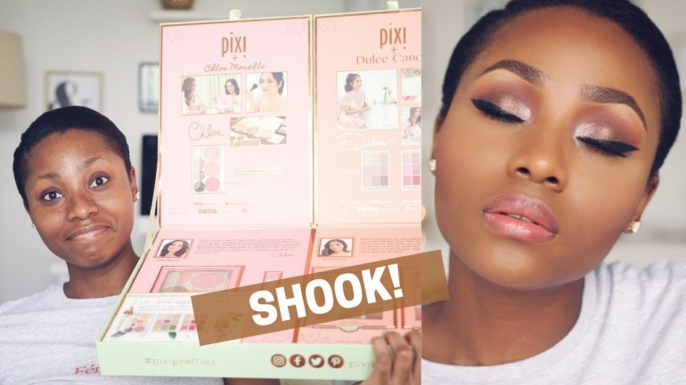 What Dimma Umeh Thinks About Using Pixi's Makeup Product For The First Time!