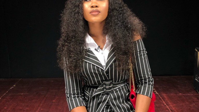#OOTD – Cee C's Striped Co Ords Wins Today's Style Game!