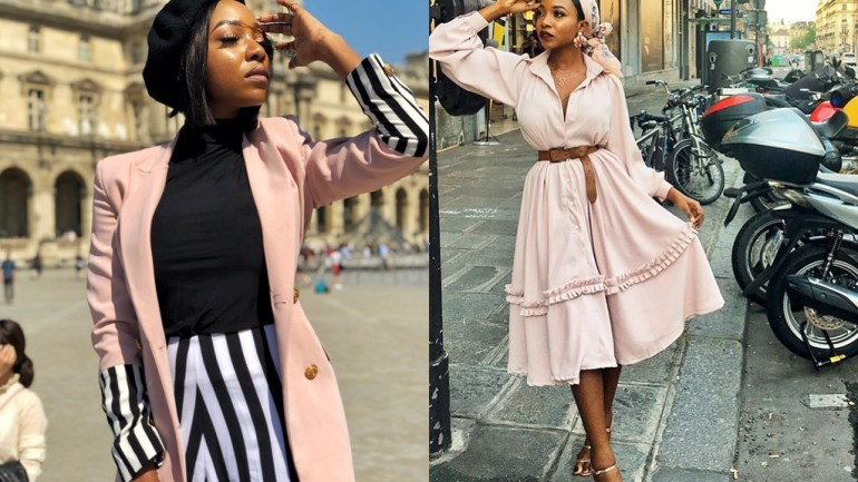 Nollywood Week In Paris- Ini Dima-Okojie Brought The Heat In Parisian-Inspired Outfits!