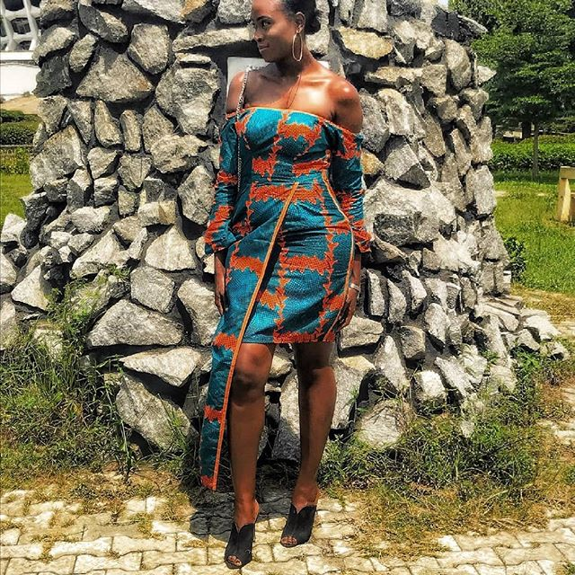 pictures of latest chics ankara styles 2018 for ladies, nigerian woman pictures of trendy ankara styles, pictures of nigerian ladies latest ankara style 2018, Nigerian chics pictures oflatest ankara styles for wedding, pictures of ovation ankara styles, pictures of chics trendy ankara styles 2018, pictures of ankara styles gown, pictures of modern ankara styles