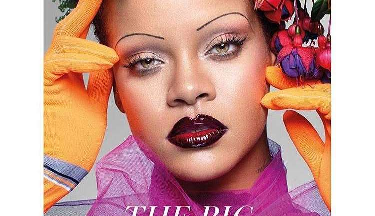 Rihanna Stuns On The Cover Of The Special Edition Of The British Vogue
