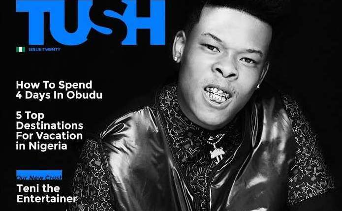 "Nasty C Covers The 20th Issue Of Tush Magazine: ""Child At Heart; Man At Work"""