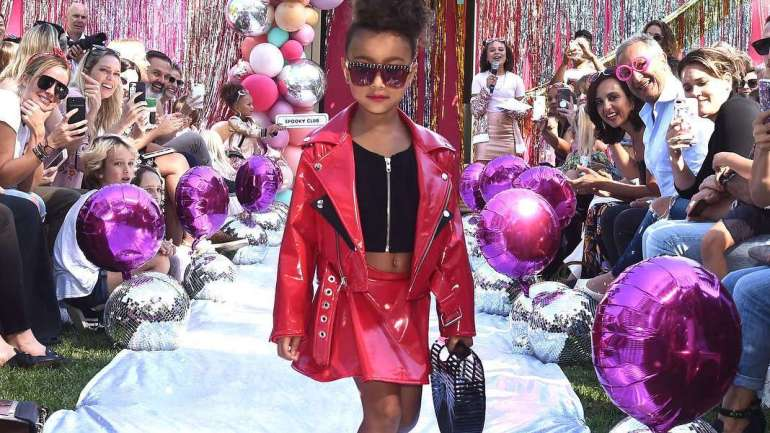 Pictures From North West's Runway Debut At The L.O.L Surprise Fashion Show