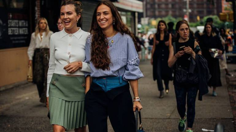 Fashionable Street Styles From New York Fashion Week 2018