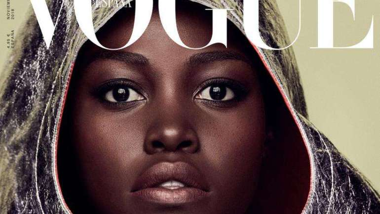 Lupita Nyong'o Is the Cover Girl For The November 2018 Issue For Vogue Spain Magazine