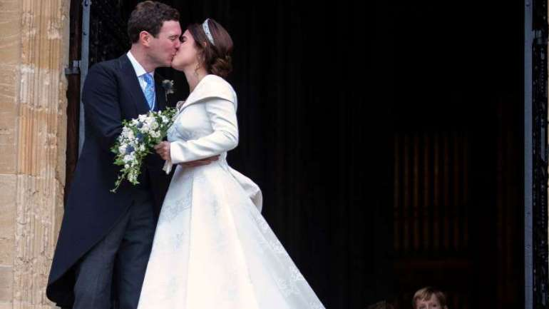 Pictures From Princess Eugenie And Jack Brooksbank's Royal Wedding