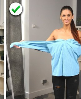 Reuse Your Old Clothes With These 12 Fashion DIY Hacks