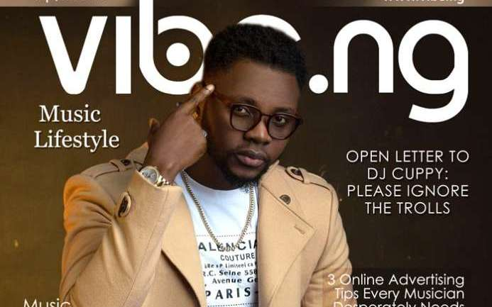 The Flight to Freedom: Kizz Daniel covers Vibe.ng's Latest Issue