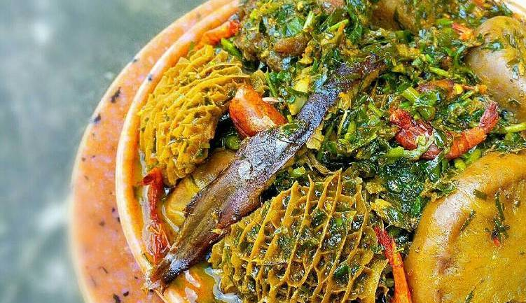 Kamdora Kitchen: How To Prepare Afang Soup By Sisi Yemmie
