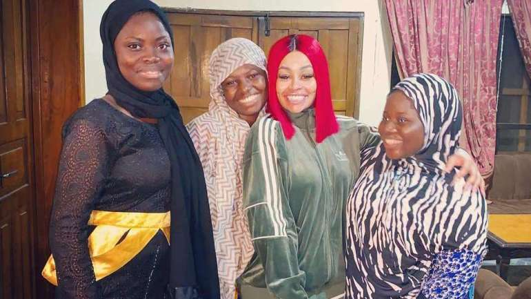 'Visiting BAB-ES-SALAM Orphanage Was A Fulfilling Experience…' Blac Chyna Says As She Visits Orphanage In Lagos