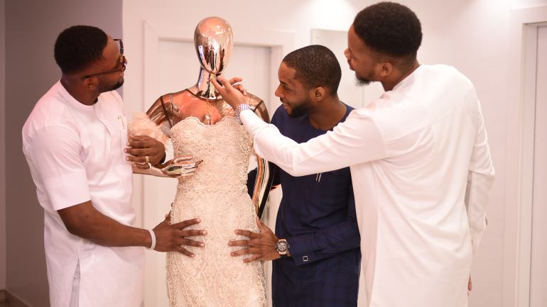 Toke Makinwa, Lax, Swanky Jerry & More – The Helen Couture Launch Had A Bevy Of Celebrities In Attendance