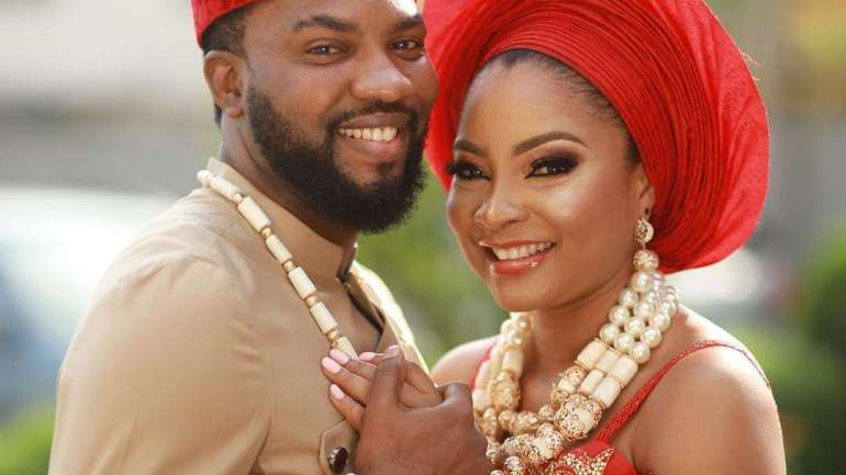Pictures From Linda Ejiofor & Ibrahim Sule's Traditional And Legal Wedding
