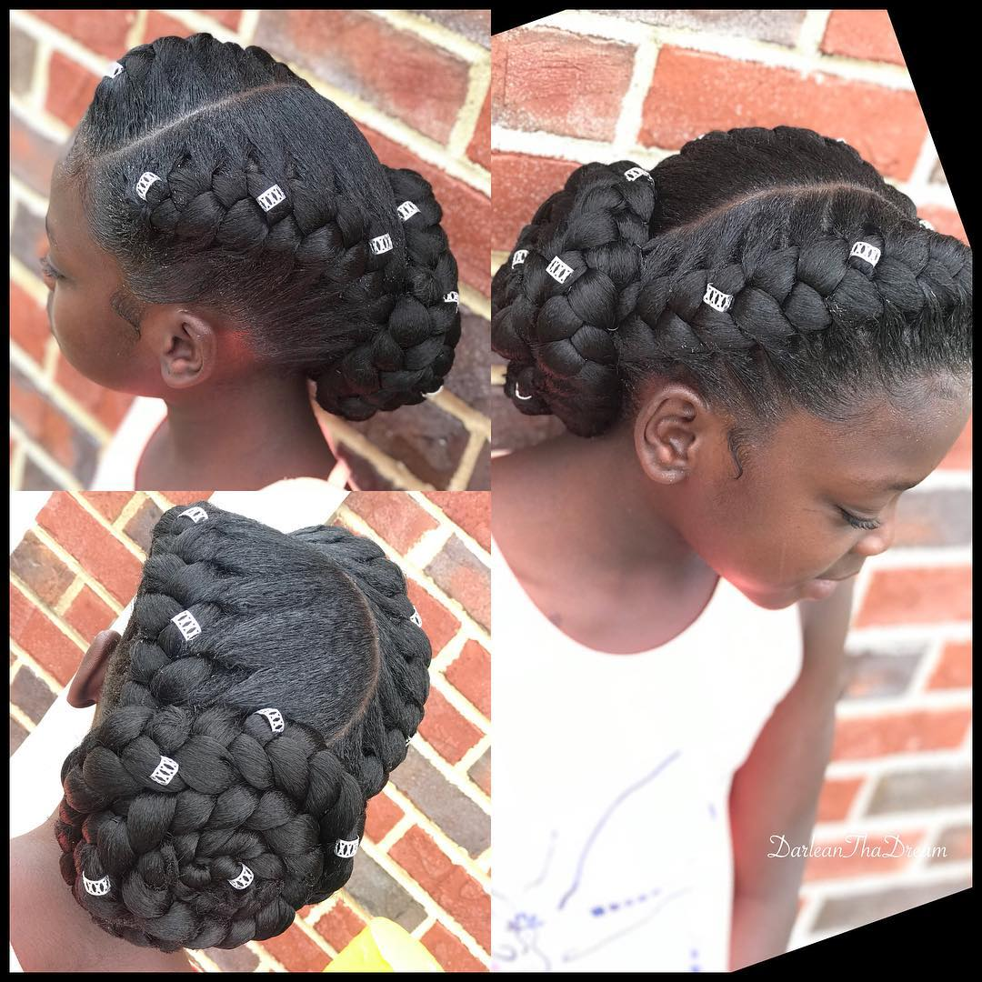 Make These Super Cute Hairstyles For Your Children This Christmas Kamdora