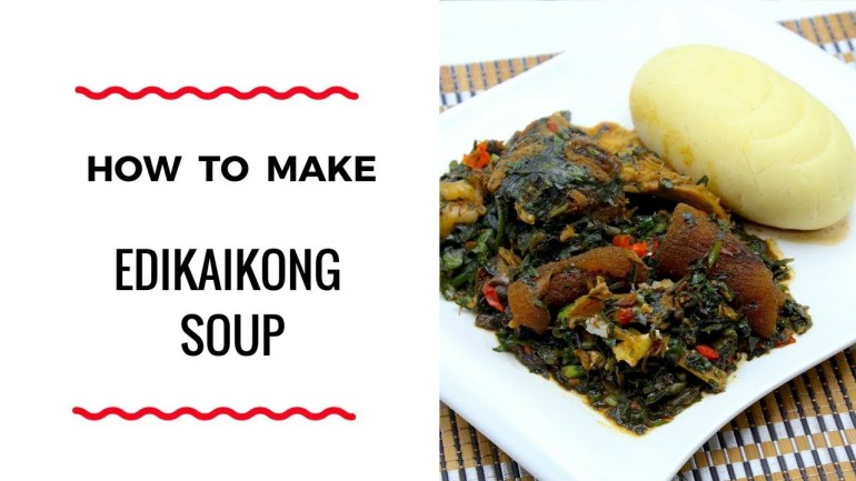Zeelicious Food Teaches Us How To Prepare Edikaikong Soup