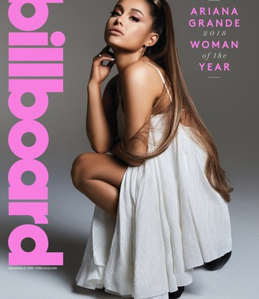"""There Is Not Much I'm Afraid Of Anymore"" – Ariana Grande Is Billboard's 2018 Woman Of The Year"