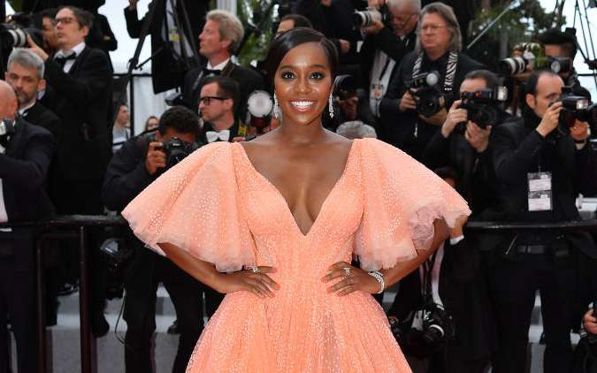 Cannes Film Festival Screening: Aja Naomi King, The Belle Of The Night!