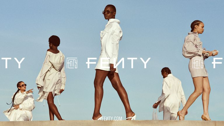 The First Look at Rihanna's New Fenty Brand