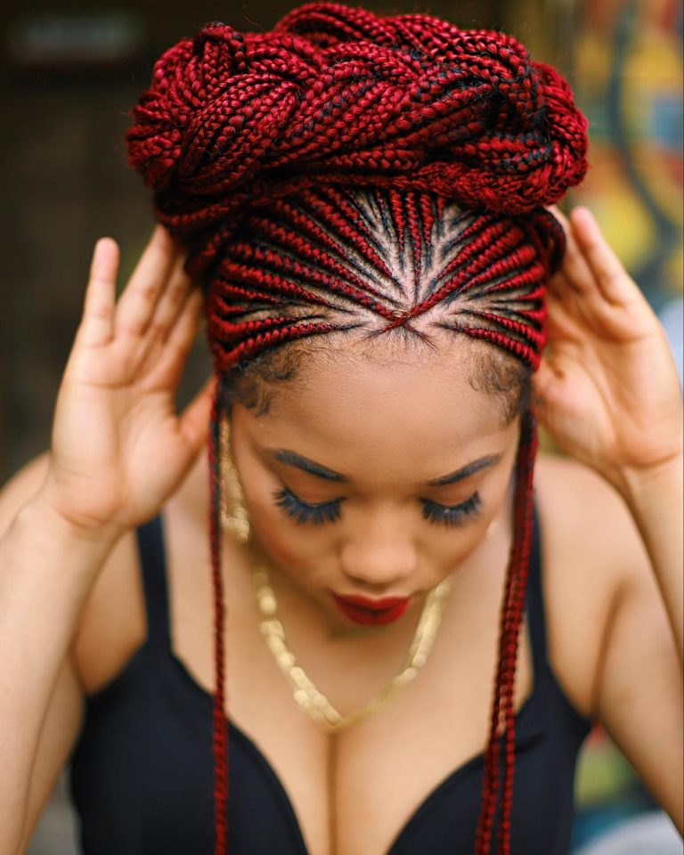 Wedding Hairstyles Ghana: These Ghana Weaving Hairstyles Would Make You Book An