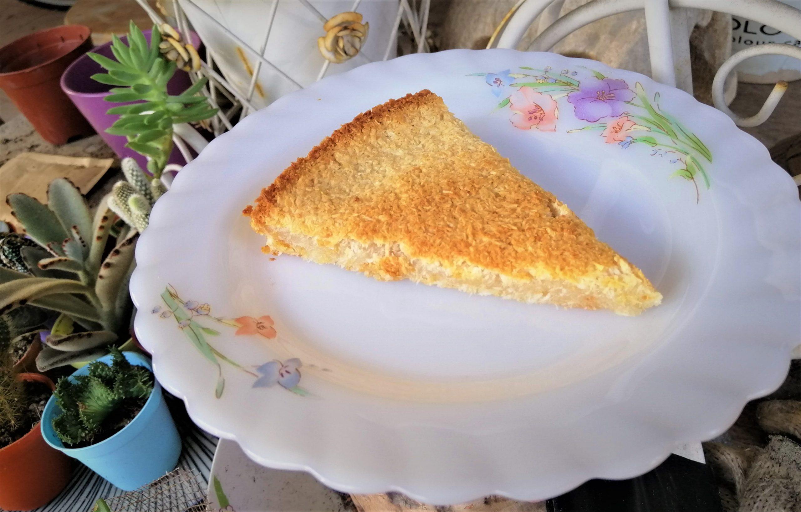 Super easy Thai coconut cake (kanom babin)