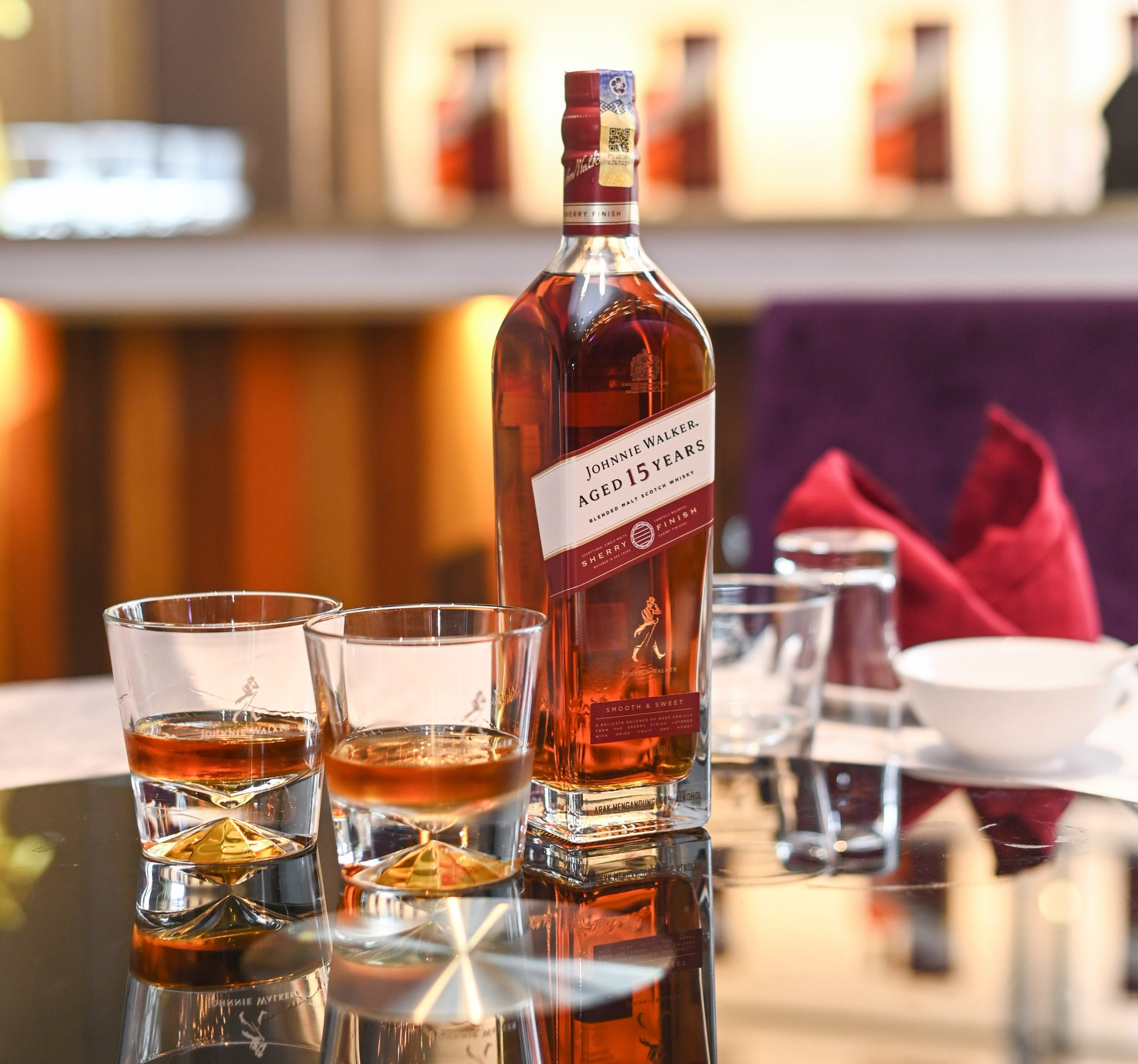Johnnie Walker debuts 15 Years Sherry Finish whisky