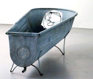 Baba au pays des merveilles 2 oeuvre artiste contemporain Kamel Yahiaoui