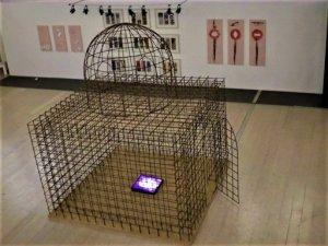 Dar El Saadia détail 2 oeuvre artiste contemporain Kamel Yahiaoui