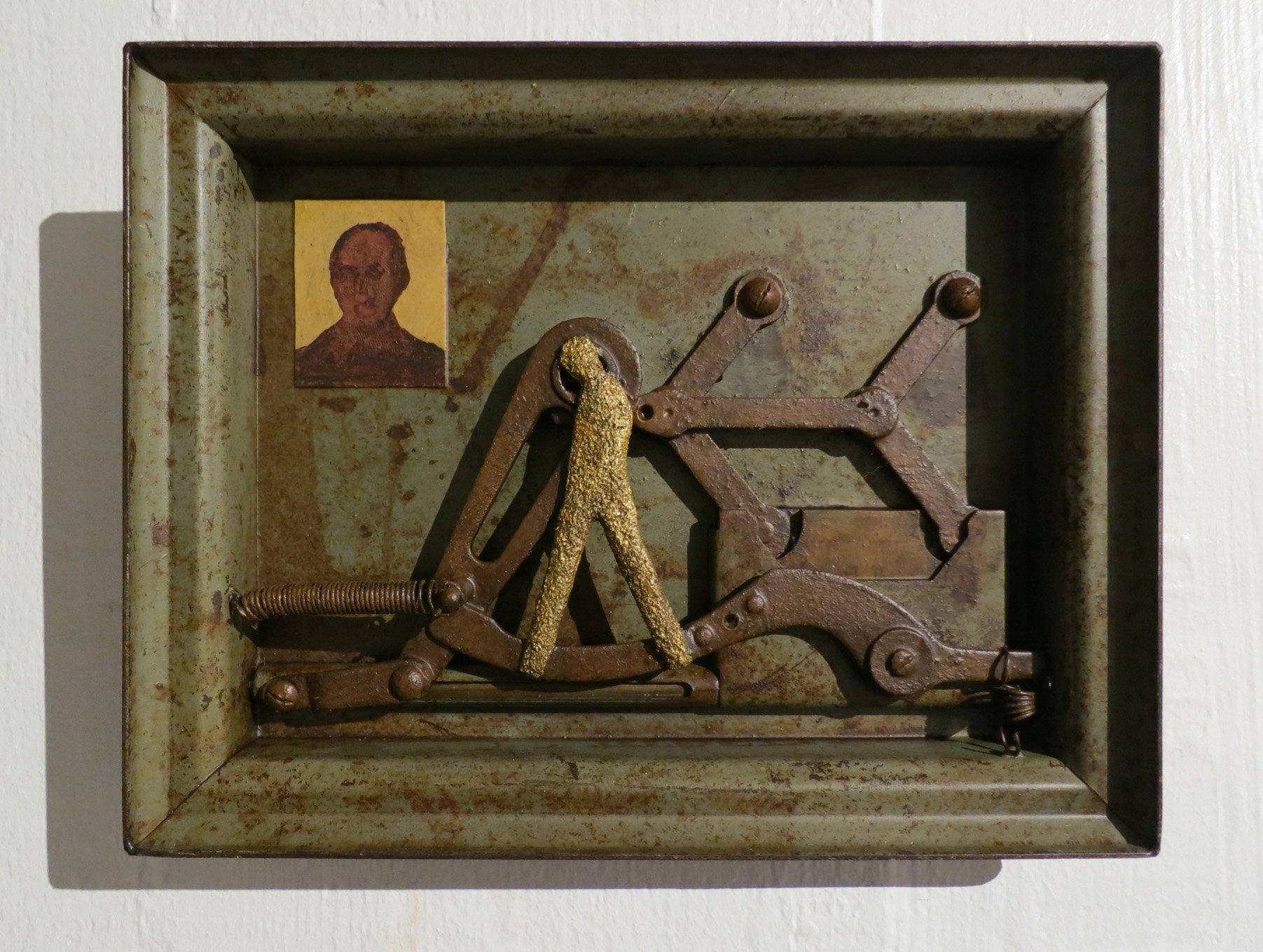 Mecanic-Man oeuvre artiste contemporain Kamel Yahiaoui