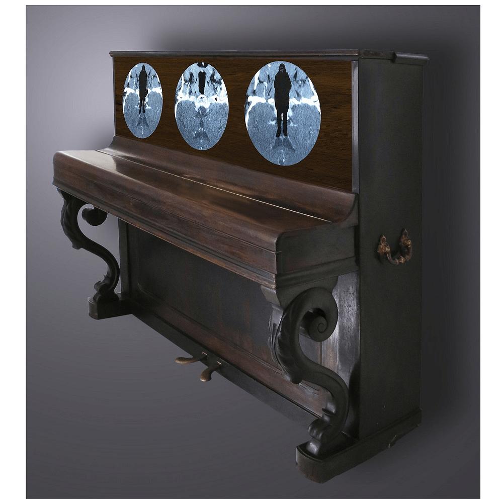 Symphonie pour M oeuvre artiste contemporain Kamel Yahiaoui