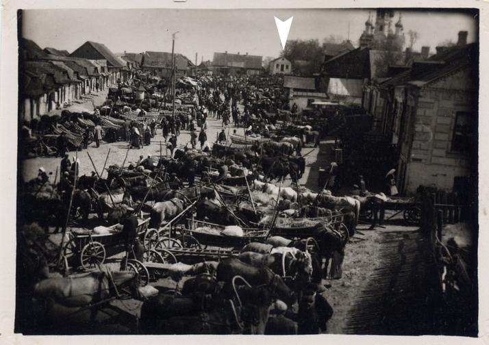 Домік на фатаграфіі 1932 года. З архіва Jenni Buch (Аўстралія)